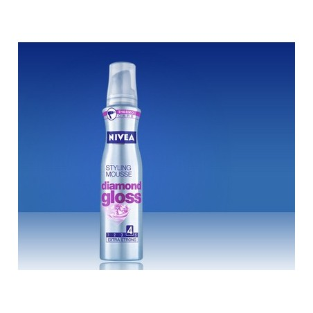 mousse hair care per capelli diamond gloss 150 ml