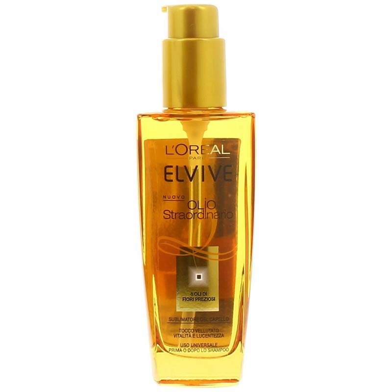 ELVIVE - olio straordinario capelli normali - Trattamento sublimatore del capello 100 ml