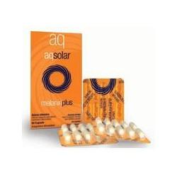 Integratore Alimentare Acceleratore Di Melanina Ad Azione Antiossidante Aqsolar Melanin Plus 60 Capsule