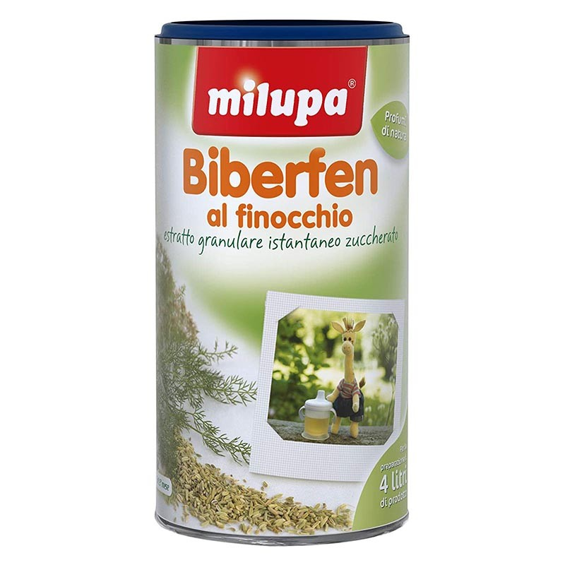 MILUPA - Biberfen al finocchio 200 g - Estratto granulare istantaneo
