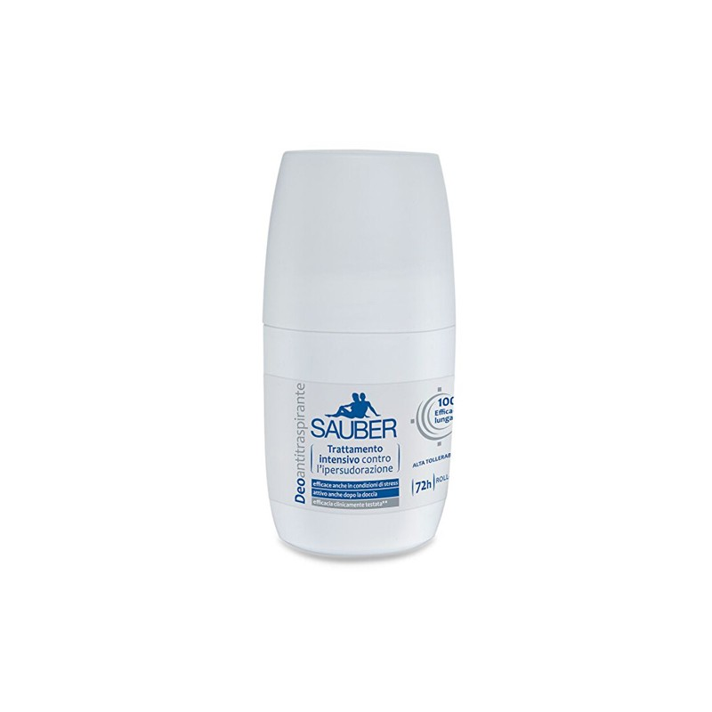 SAUBER - DeoActive - Deodorante lunga durata Roll-on 50 ml