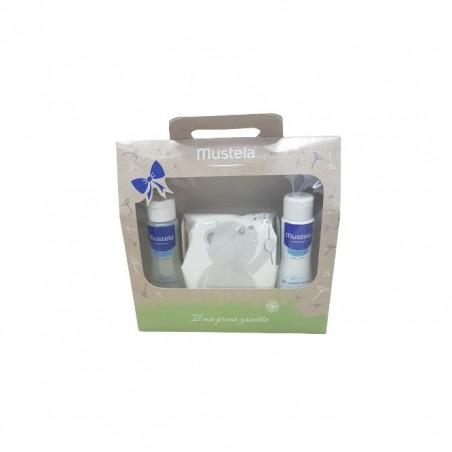 MUSTELA - Cofanetto asilo - Detergente 200 ml + Shampoo dolce 200 ml + sacca