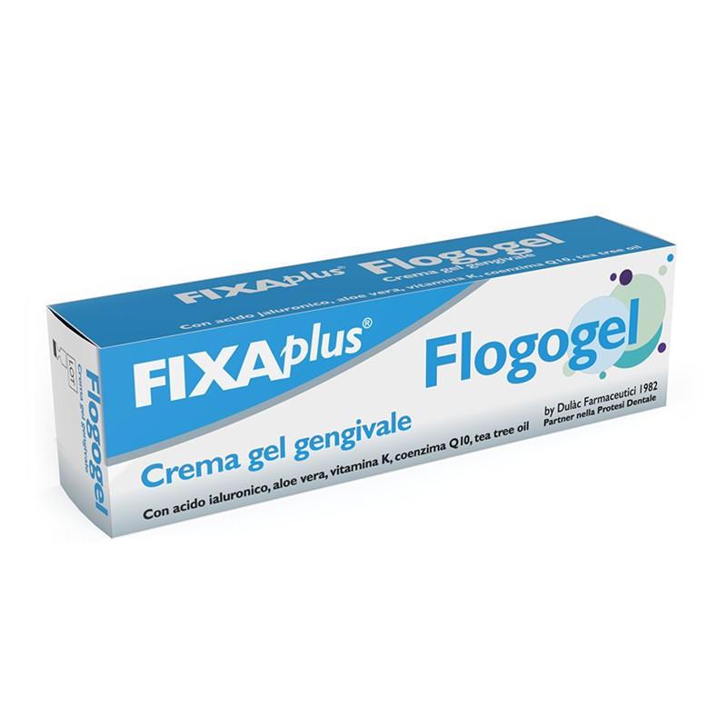 FLOGOGEL - Fixa Plus Flogogel - Crema Gel Gengivale 15 Ml