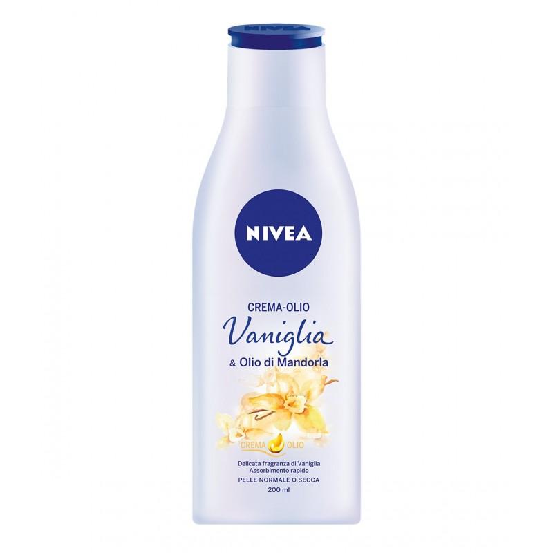 NIVEA - Crema-Olio Vaniglia & Olio di Mandorla 200 ml