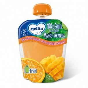 Merenda alla frutta 90 gr - mango e arancia