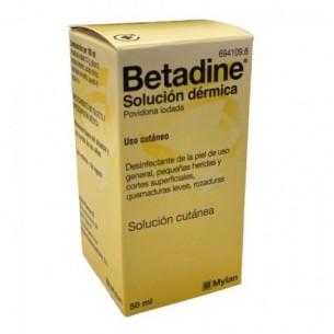 Betadine Soluzione Cutanea 10% 50 ml - disinfezione della cute lesa