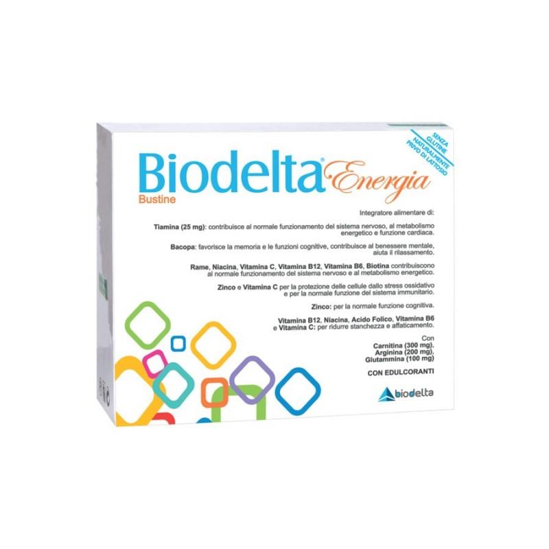BIODELTA - Biodelta Energia 20 Bustine - integratore per il benessere del corpo