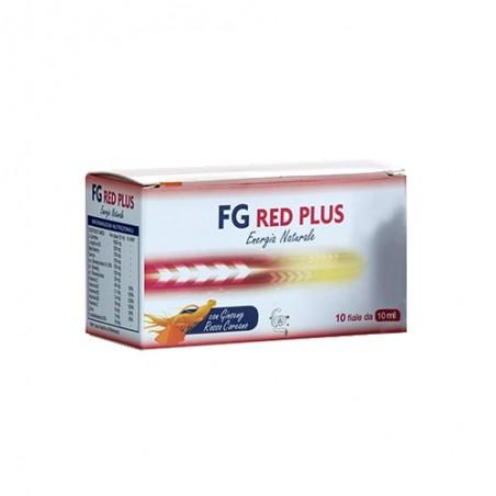 F&G SALUTE E BENESSERE - Fg Red Plus 10 Fiale 10 ml - Integratore di vitamine e minerali