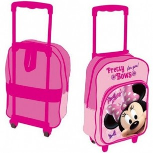 minnie pretty bows - zaino trolley scuola (Offerta Speciale)