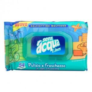 senz'acqua - 54 salviettine detergenti multiuso