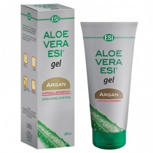 Aloe Vera gel - Gel lenitivo con olio di Argan per pelle secca 200 ml