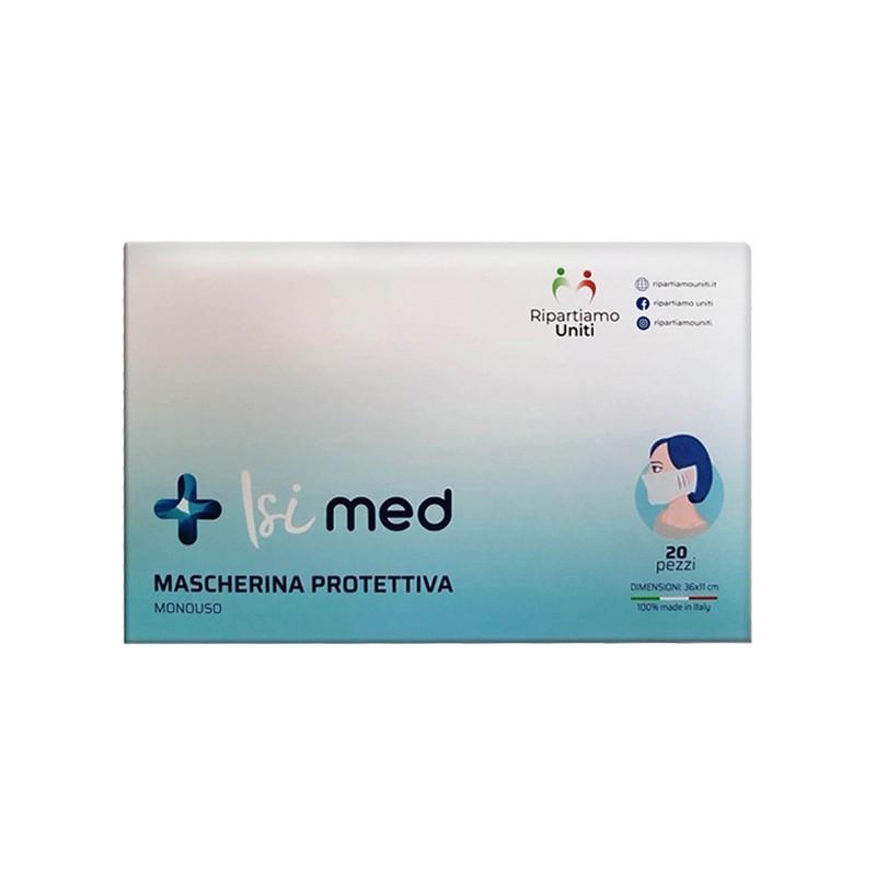 ITALIAN WORLD - Isi med - 20 mascherine protettive monouso