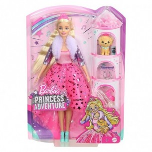 Barbie Princess Adventure - Bambola principessa con accessori