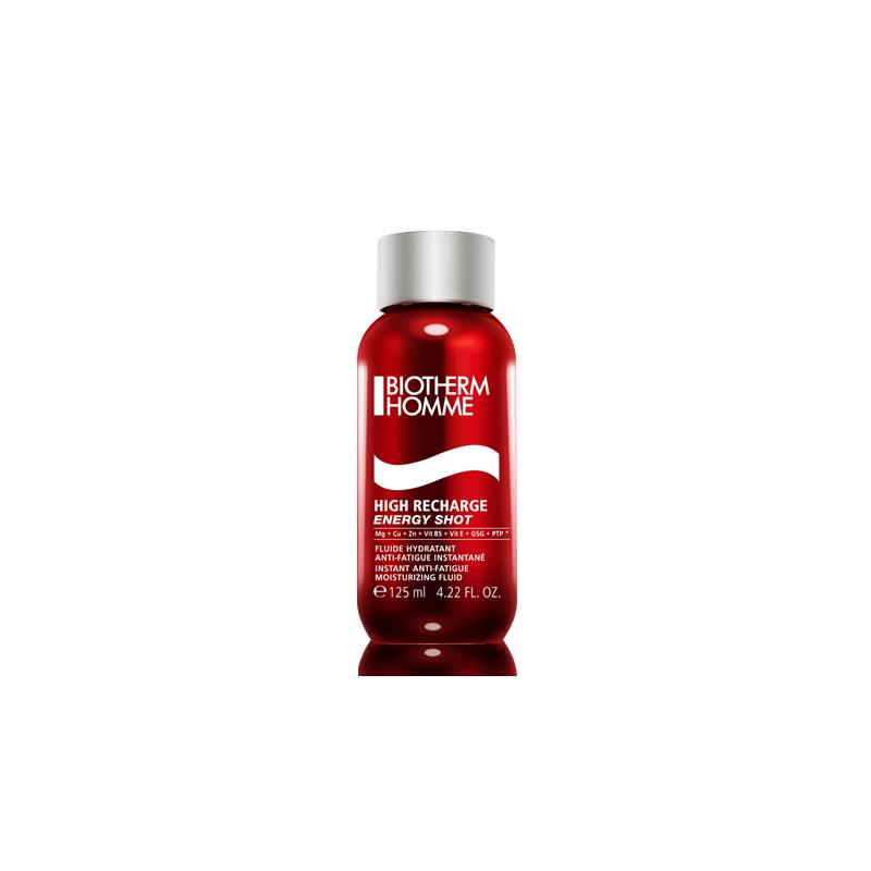 BIOTHERM - fluido idratante anti-fatica istantaneo homme high recharge 125 ml
