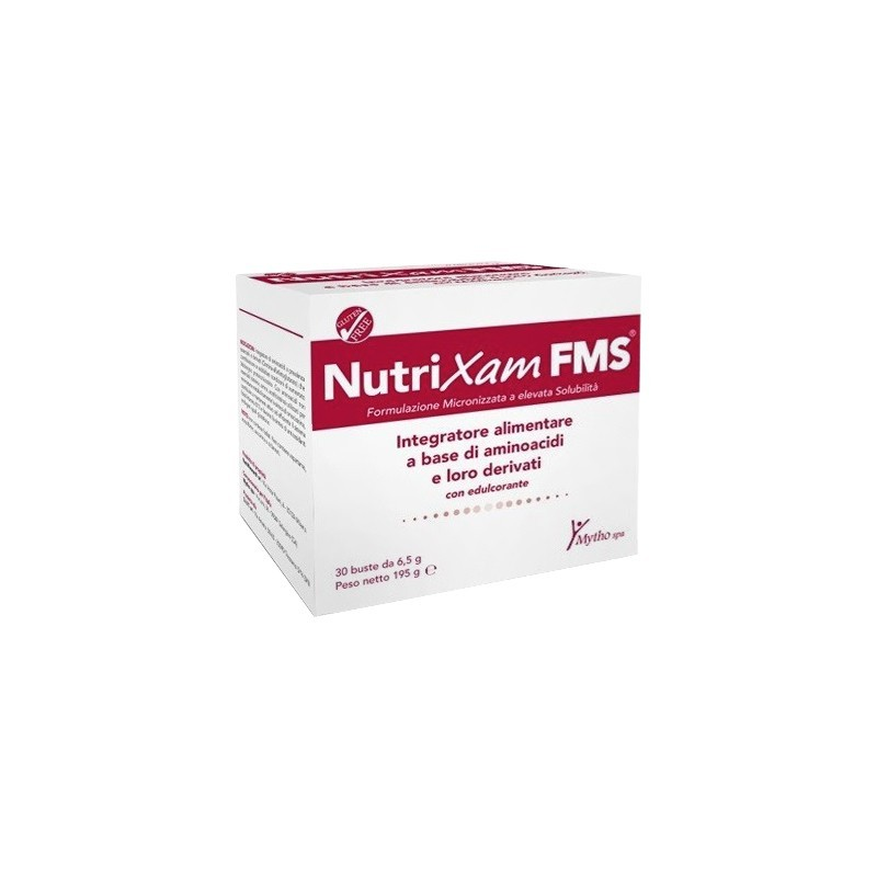 NAMED - Nutrixam FMS 30 bustine - integratore a base di aminoacidi e loro derivati