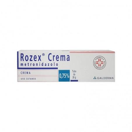 GALDERMA - Rozex 0.75% 30 g - crema per il trattamento della rosacea