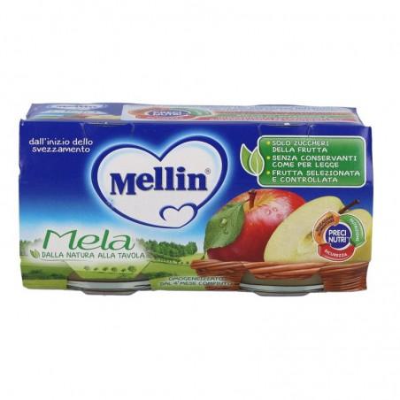 MELLIN - 2 Omogeneizzato Mela 100 g