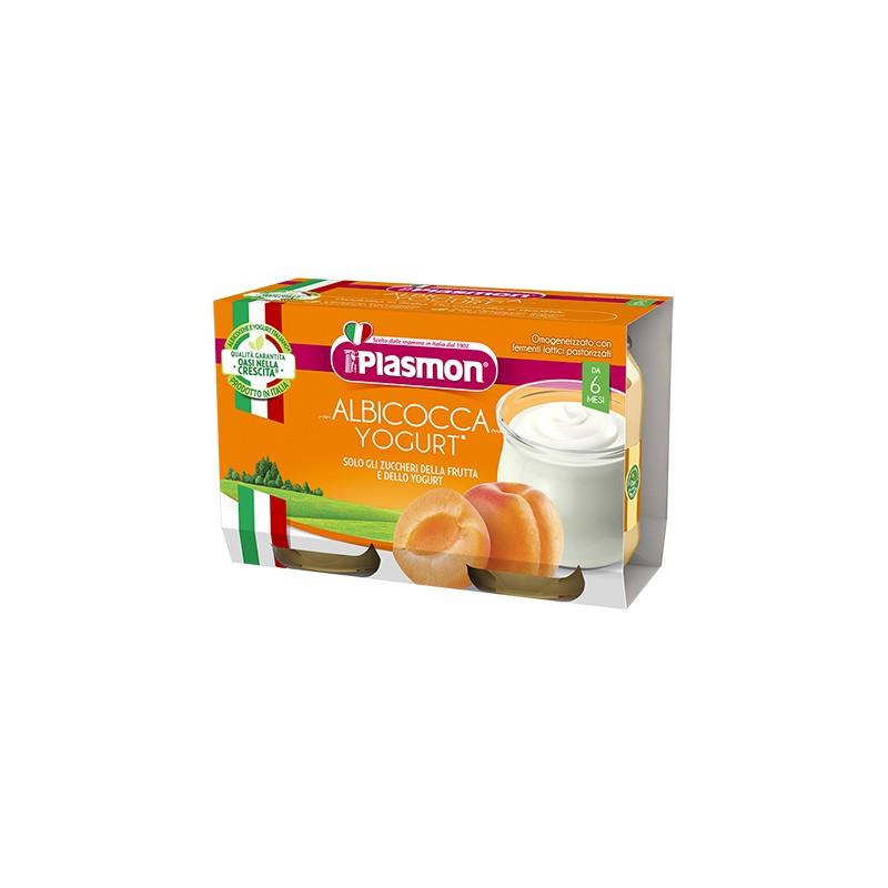 Plasmon - Omogeneizzato Yogurt Albicocca 120 Gr X 2 Pezzi