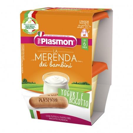Plasmon - Omogeneizzato Yogurt/Biscotto 120 Gr X 2 Pezzi