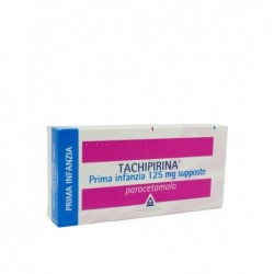 Tachipirina Prima Infanzia 125 mg - analgesico antipiretico 10 supposte