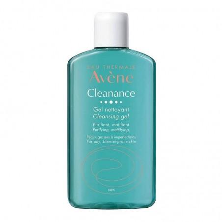 Avene - Cleanance - Gel Detergente per pelle grassa ed impura nuova formula 200 ml
