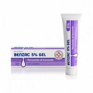 Benzac 5% Gel 40 g - Disinfezione della cute