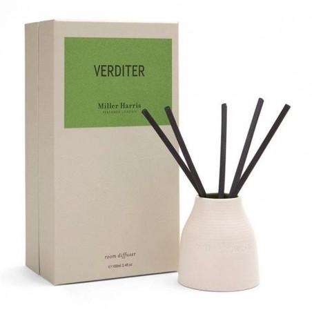 MILLER HARRIS - Verditer - Diffusore per Ambiente a bastoncini 100 ml