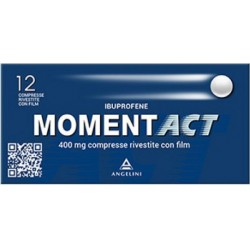 Momentact 400 mg - analgesico antinfiammatorio 12 compresse rivestite