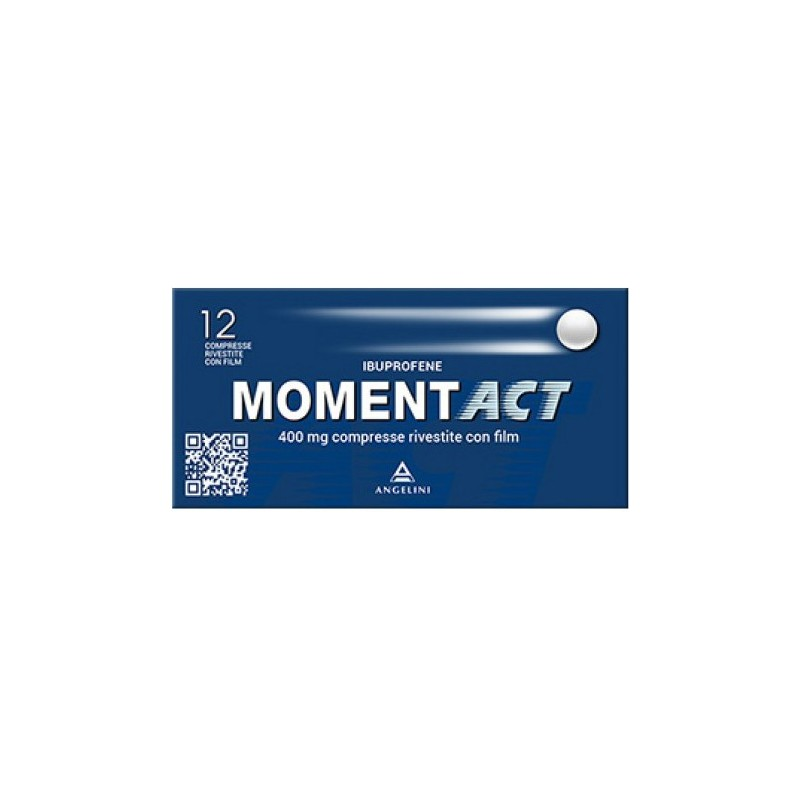 Angelini - Momentact 400 mg - analgesico antinfiammatorio 12 compresse rivestite