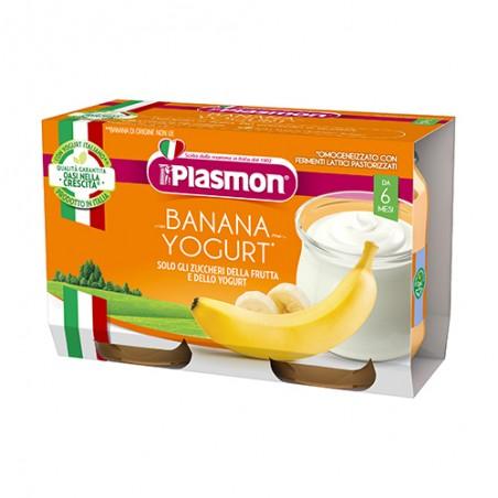 Plasmon - Omogeneizzato Yogurt/Banana 120 Gr X 2 Pezzi