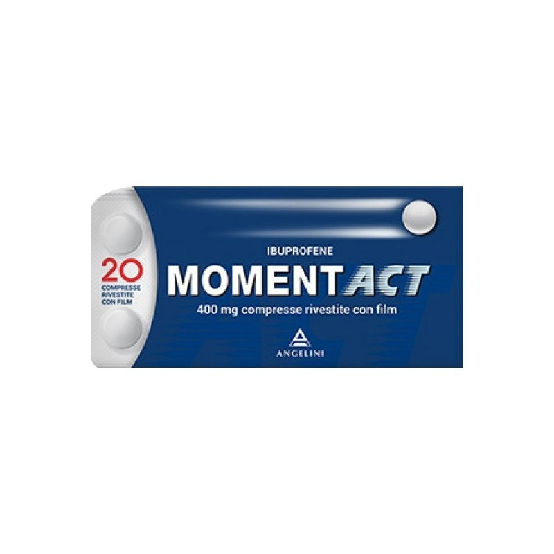 MomentAct 400 mg - analgesico antinfiammatorio 20 compresse rivestite