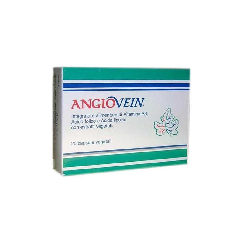 Integratore Alimentare Per Il Trofismo Del Microcircolo Angiovein 20 Capsule