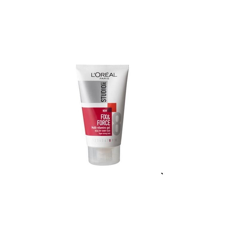gel studio line fix&force multivitaminico iperforte 150 ml