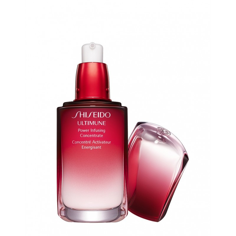 Shiseido - ultimune power infusing concentrate - trattamento viso anti età 50 ml