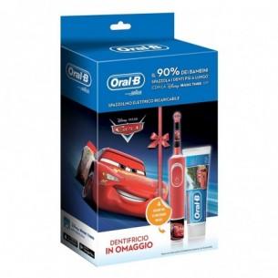 Kids Cars - Spazzolino elettrico + Dentifricio