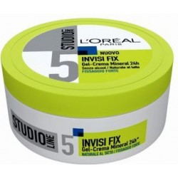 gel studio line invisi fix -mineral crema modellante 150ml