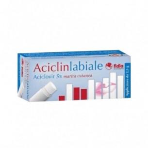 Aciclin Labiale - matita cutanea per il trattamento dell'herpes 2,5 g