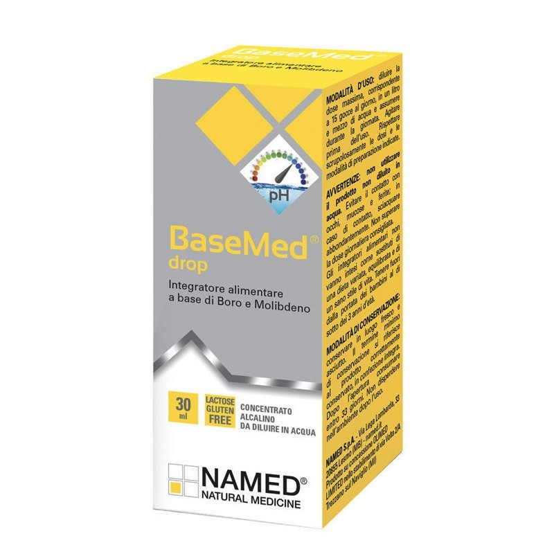 NAMED - Basemed Drop 30 Ml - integratore di minerali