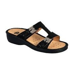 Calzatura Femminile Sandalo Constance  Colore Nero Glitter N.  37