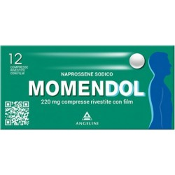 Momendol 220 mg - analgesico antinfiammatorio 12 compresse rivestite