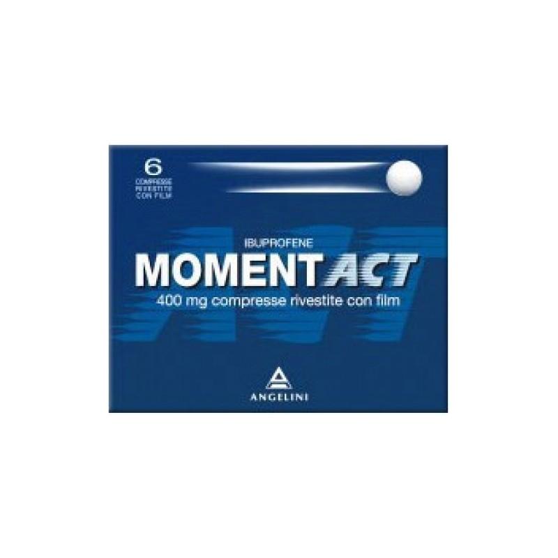 Momentact 400 mg- analgesico antinfiammatorio 6 compresse rivestite