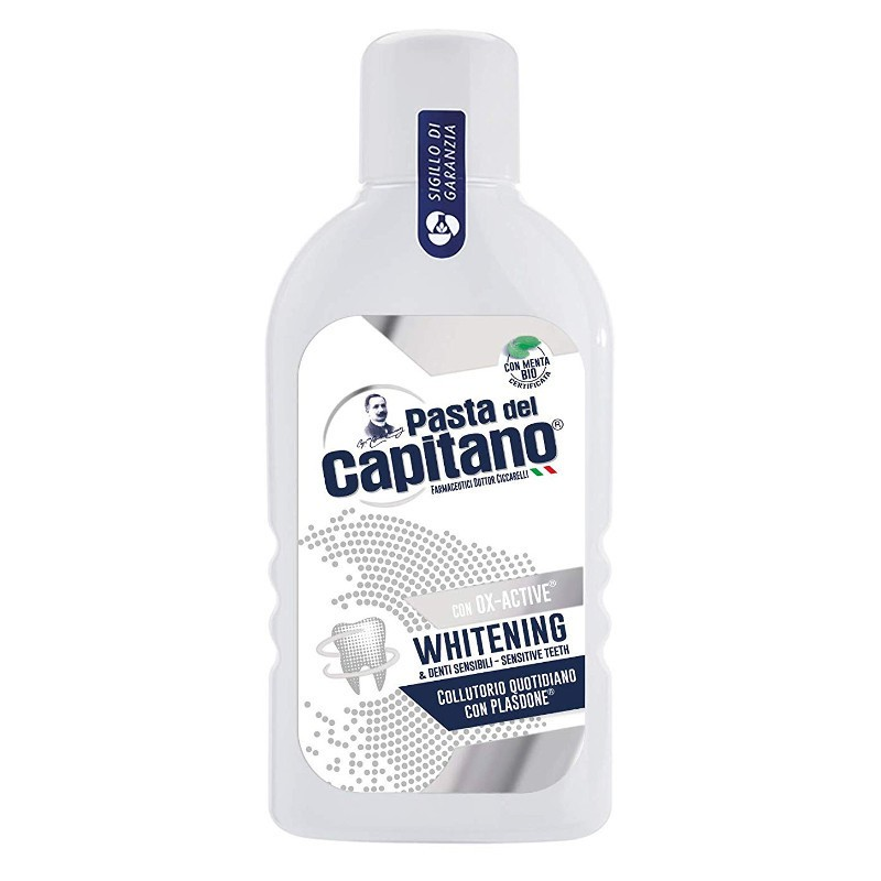 Pasta Del Capitano - Ox Active whitening - collutorio sbiancante per denti sensibili 400ml