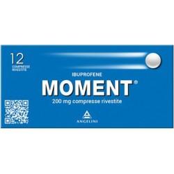 Moment 200 mg - analgesico antinfiammatorio 12 compresse rivestite