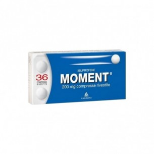 Moment 200 mg - analgesico antinfiammatorio 36 compresse rivestite
