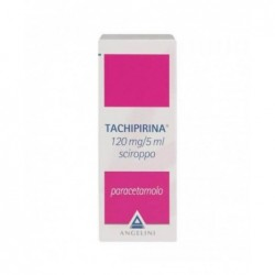 Tachipirina 120 mg/5 ml sciroppo - analgesico antipiretico 120 ml