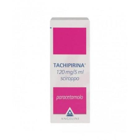 Tachipirina 120 mg/5 ml sciroppo - analgesico antipiretico 120 ml