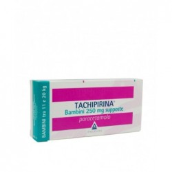 Tachipirina Bambini 250 mg - analgesico antipiretico 10 supposte