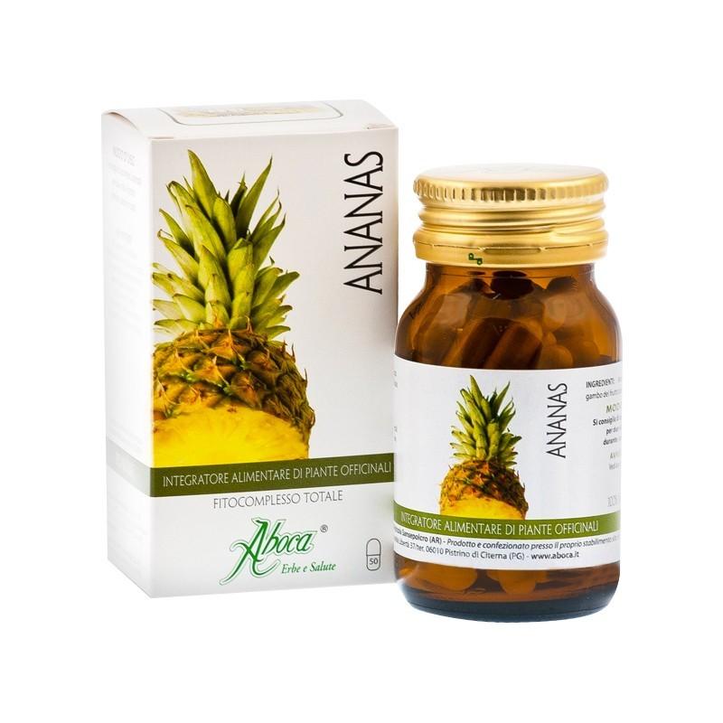 Integratore Alimentare Anticellulite Ananas Fitocomplesso 50 Opercoli