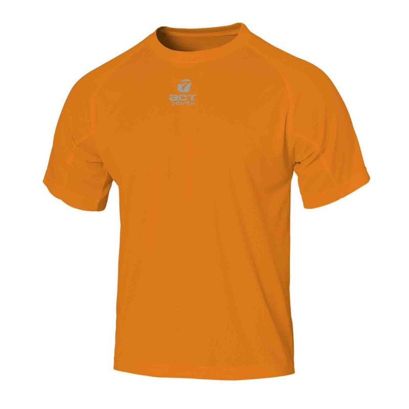 t-shirt maglia manica corta colore orange taglia-l