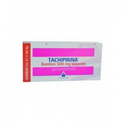 Tachipirina Bambini 500 mg 10 supposte - analgesico antipiretico